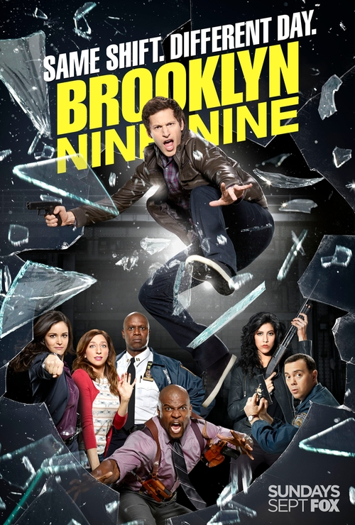 Brooklyn Nine-Nine Yippie Kayak poster