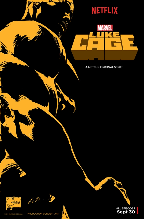 Marvel's Luke Cage Blowin' Up the Spot poster