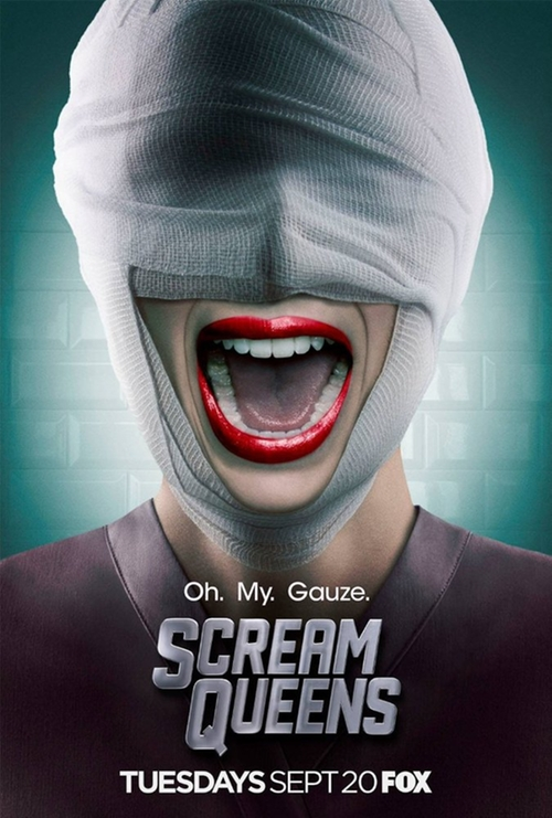 Scream Queens Warts and All poster