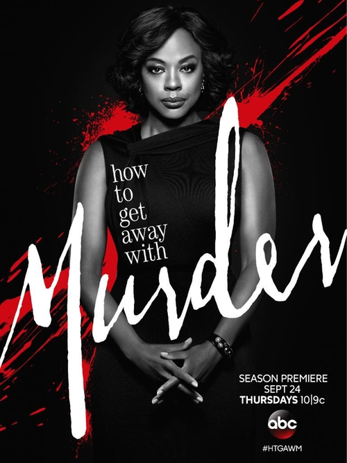 How To Get Away With Murder I Want You to Die poster