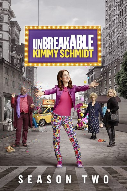 Unbreakable Kimmy Schmidt Kimmy Walks Into a Bar! poster