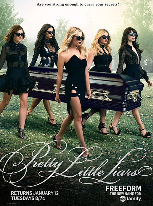 Pretty Little Liars Songs of Experience poster