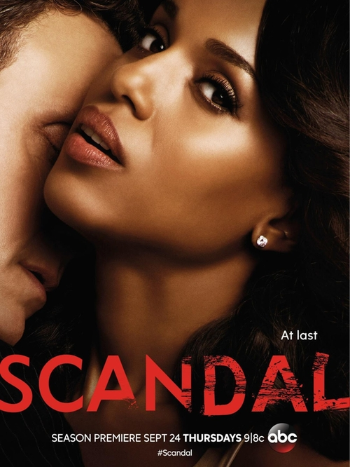 Scandal The Candidate poster