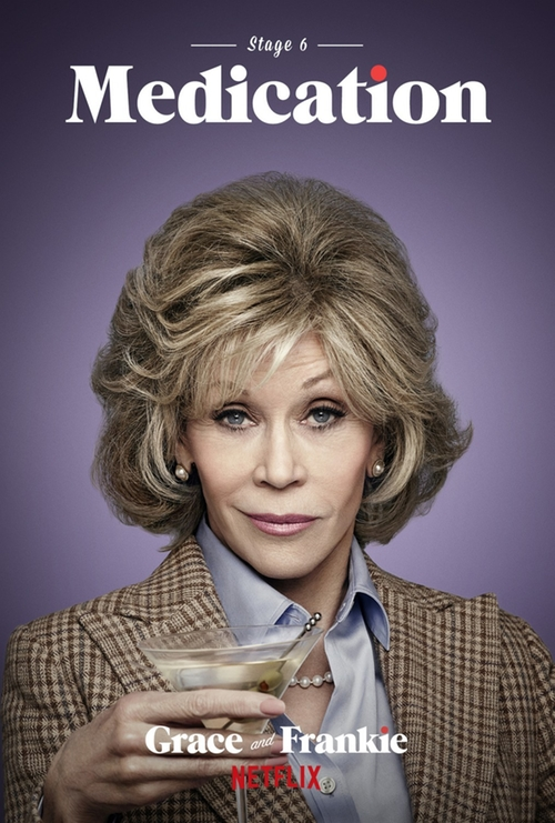 Grace and Frankie The Party poster