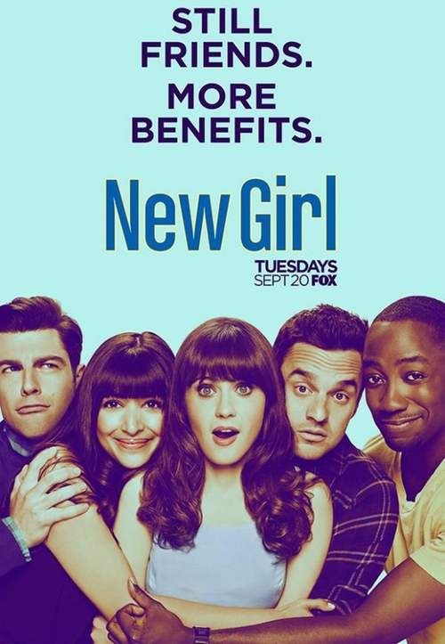 New Girl Hubbedy Bubby poster