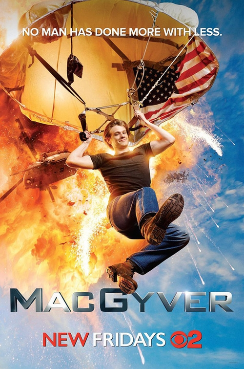 MacGyver The Rising poster