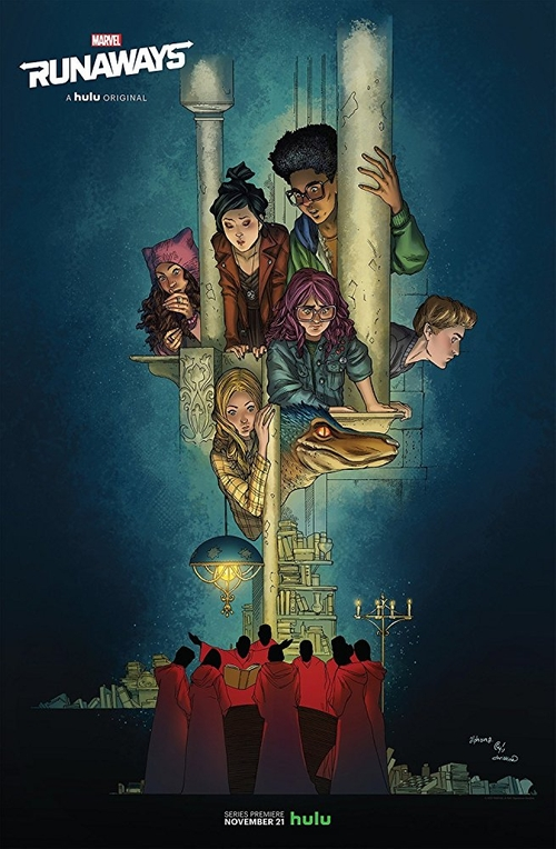 Fashion and Locations in Marvel's Runaways